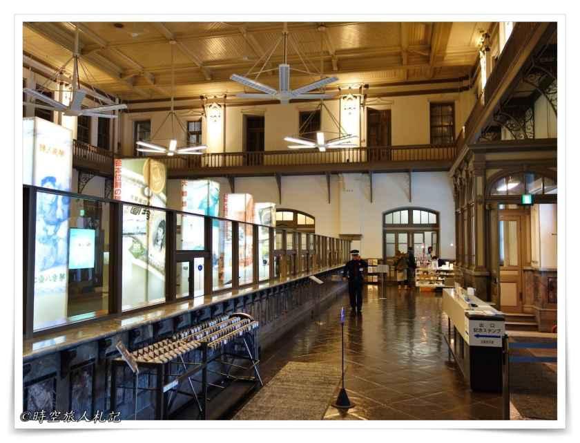 舊日本銀行櫃台