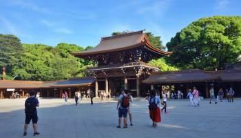 東京景點紀錄: 明治神宮、皇居