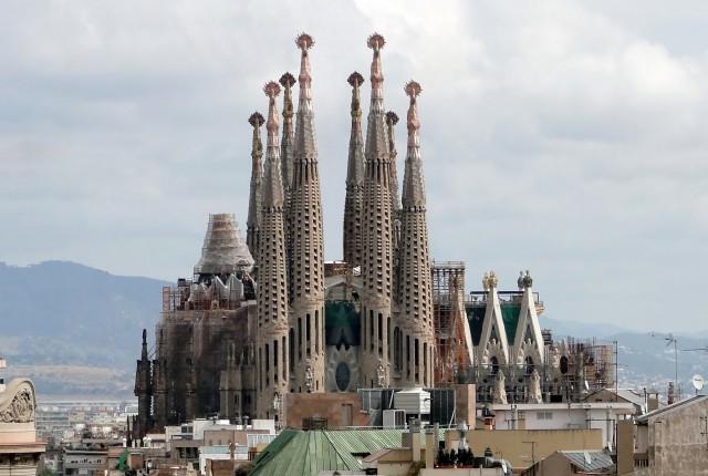 Sagrada Familia. Source: Wikimedia