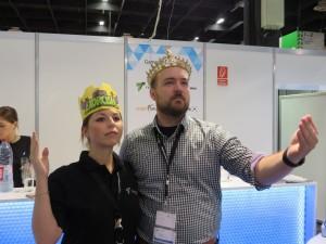 Michaela&Lars@gamescom