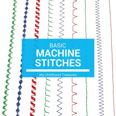 Basic Machine Stitches | Sewing Machine Stitches for Beginners