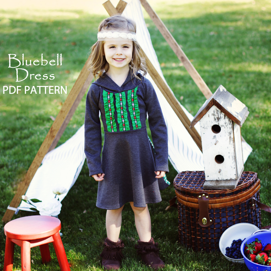 bluebell dress pattern