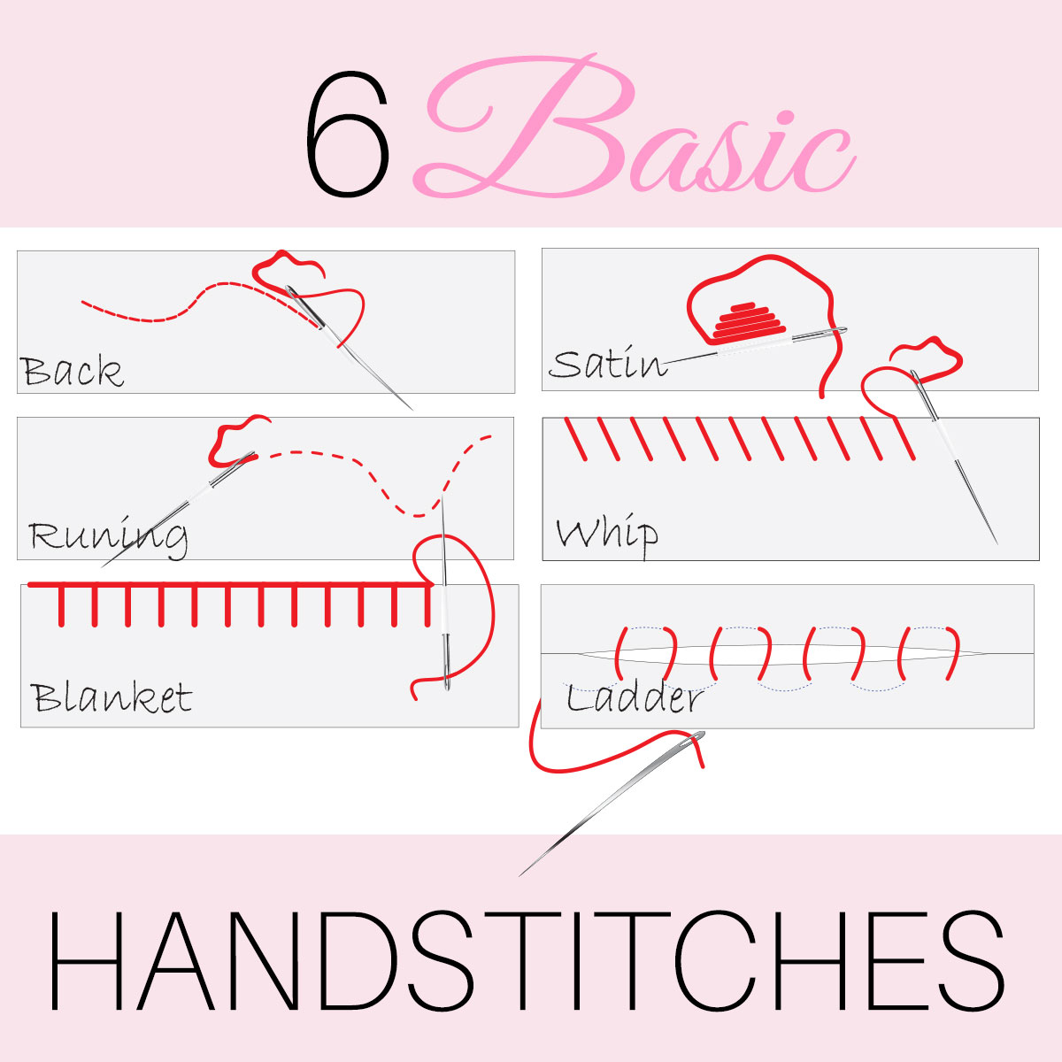 Hand Embroidery Stitches 6 Easy Hand Stitches Treasurie