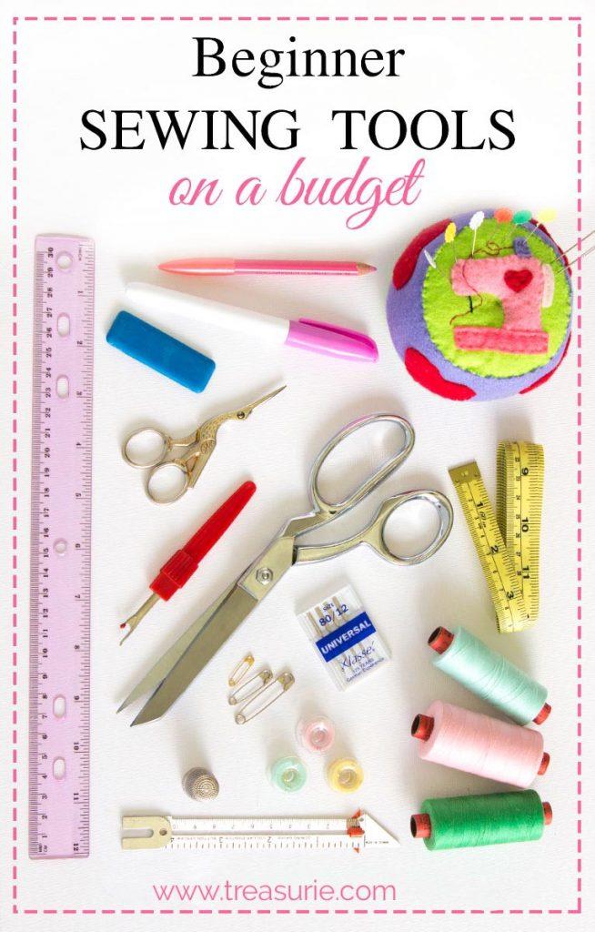 Sewing Tools, beginner sewing kit
