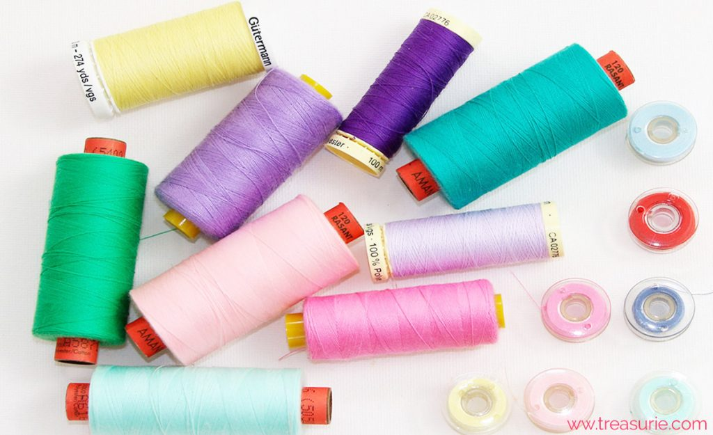 sewing tools threads