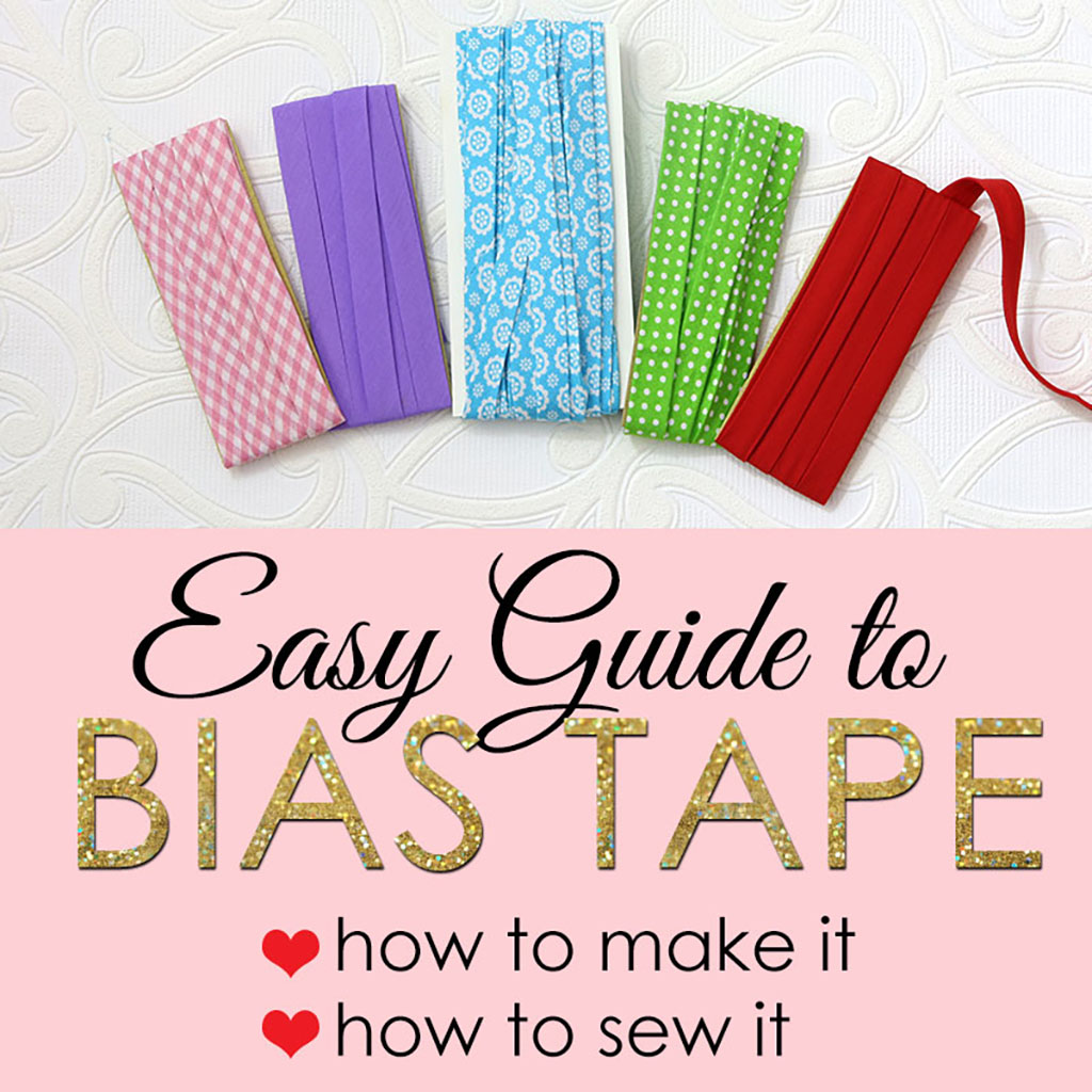 sewing bias tape tutorial