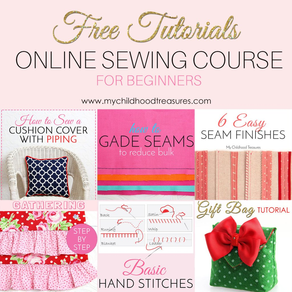 learn to sew online