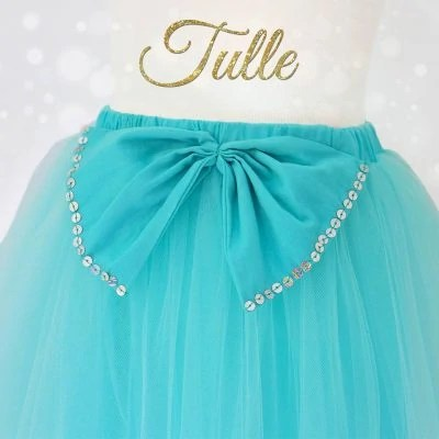 how to gather tulle, how to sew tulle