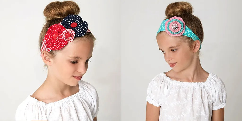 flower headband sewing pattern