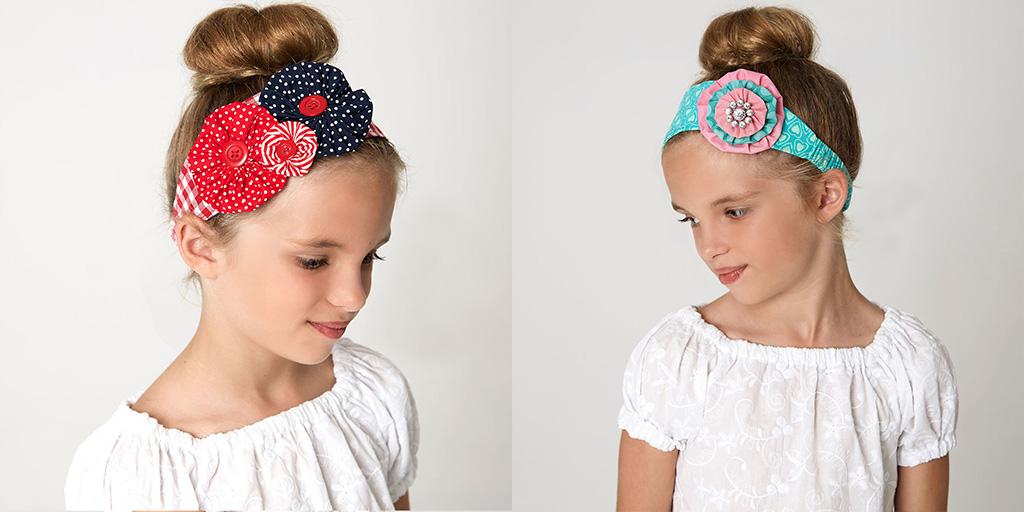 flower headband sewing pattern