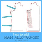 how to add seam allowances