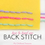 How to Backstitch: Easy Step by Step TUTORIAL
