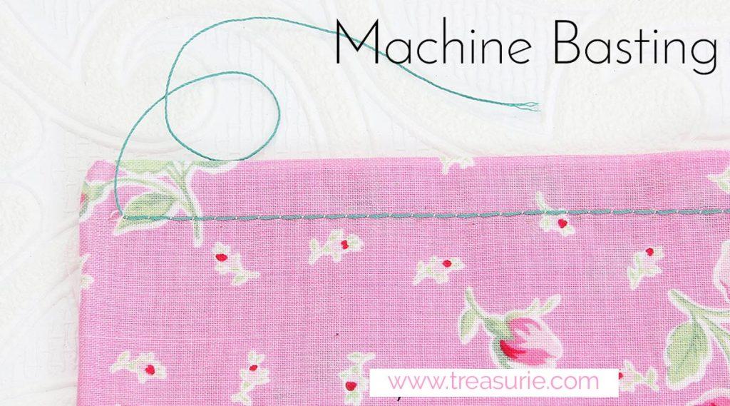 machine basting stitch, what is basting stitch