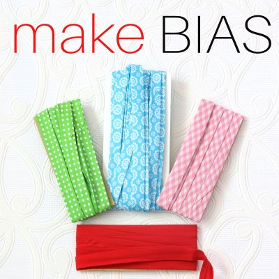 How to Make Bias Binding | Bias Tape with & without a Bias Maker