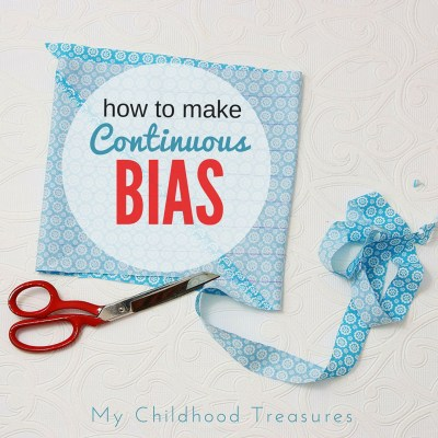 Continuous Bias Tape – Making Bias Binding the Easy Way