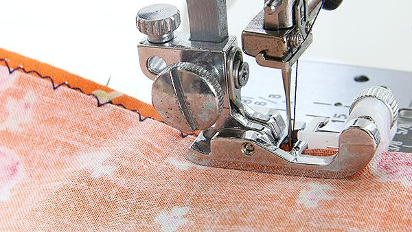 Blind Stitch Hem Stitching