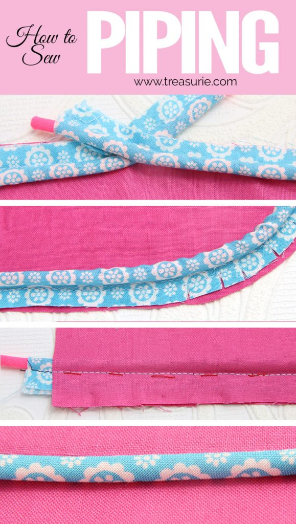 sewing piping, how to sew piping