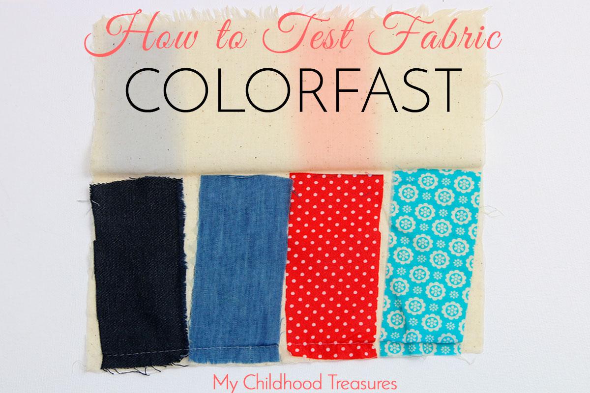 color fastness step 3