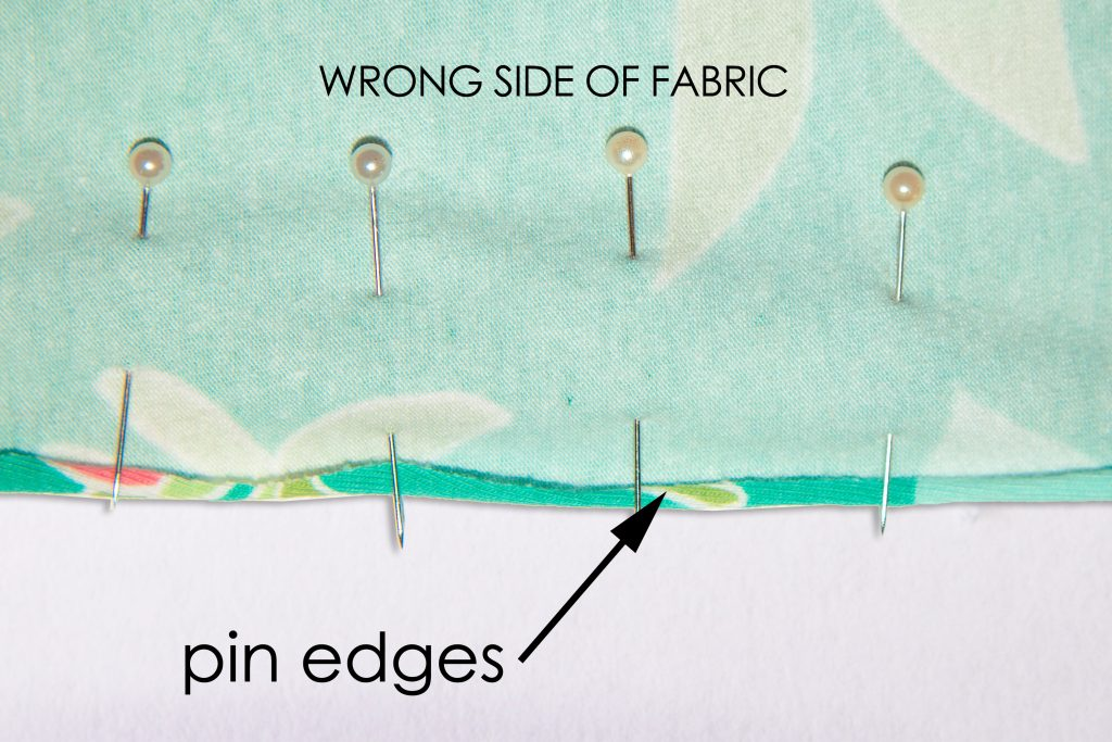 pin edges