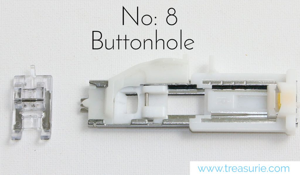 buttonhole sewing feet