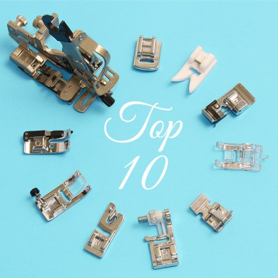 sewing machine feet guide