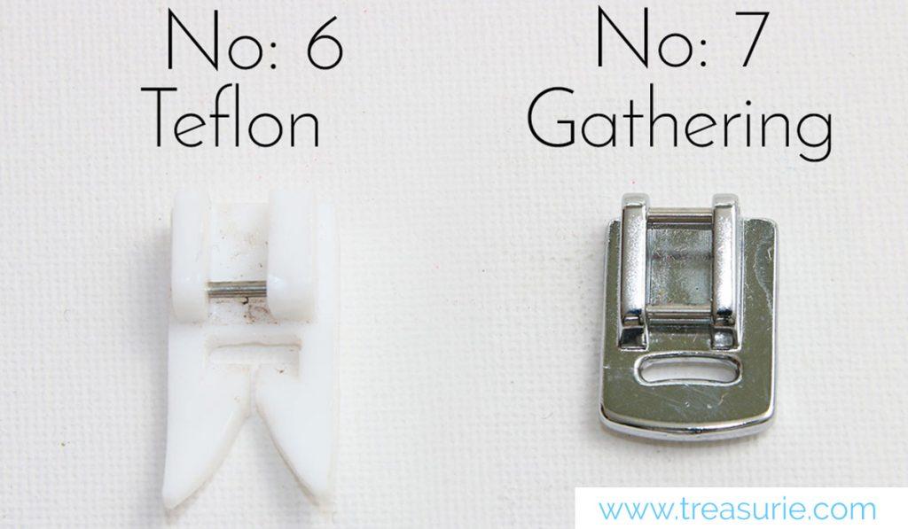 teflon sewing feet