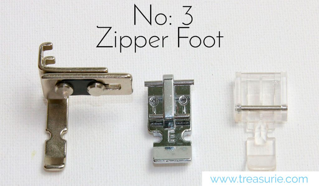 Zipper Sewing Feet