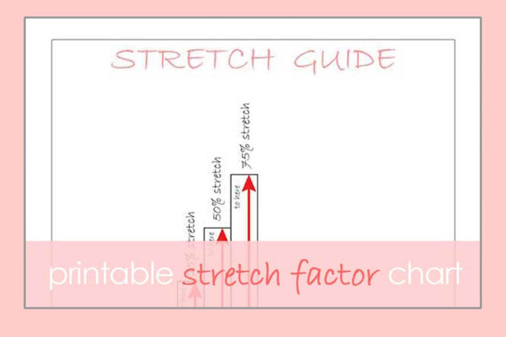 what is stretch factor printable