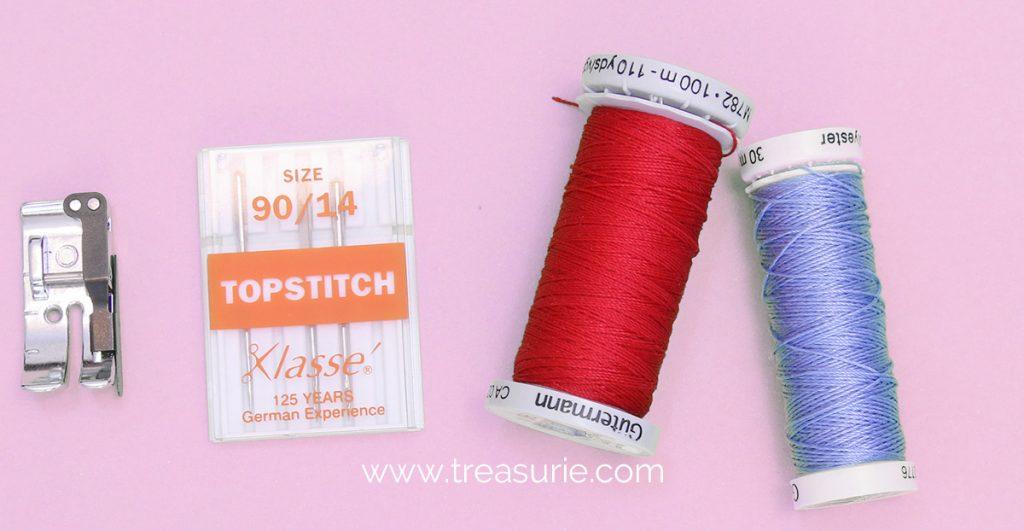 top stitching tools