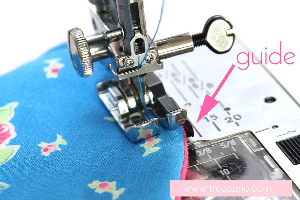 top stitching flap, topstitch