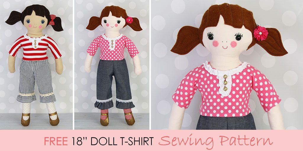 free-doll-clothes-patterns-tshirt-1