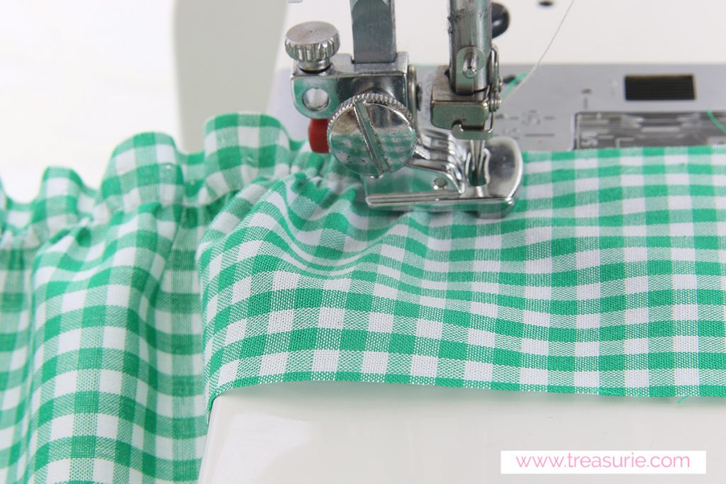 How to Gather Fabric with a Gathering Foot