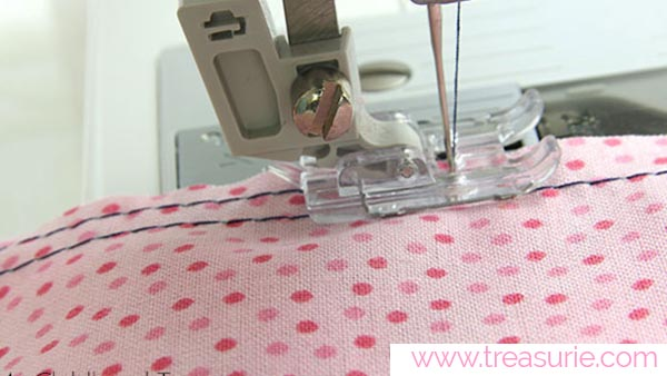 How to Gather Fabric with 2 Rows