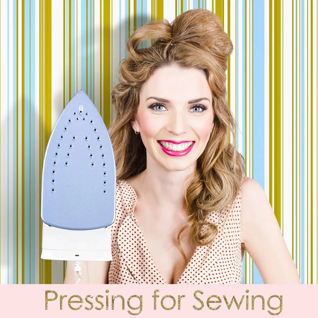 how to press for sewing