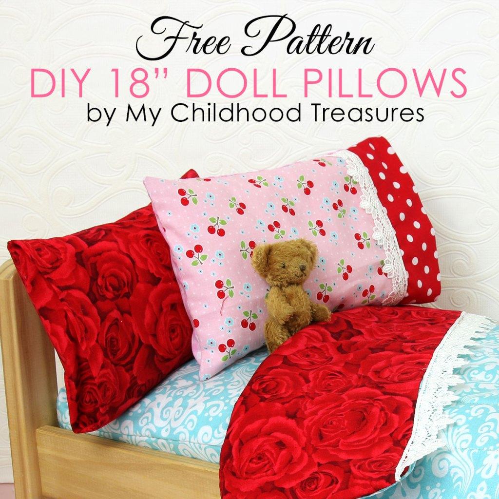 doll pillowcase pattern