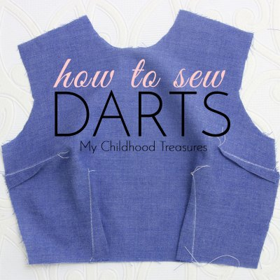 Sewing Darts – How to Sew Darts: SIMPLE tutorial