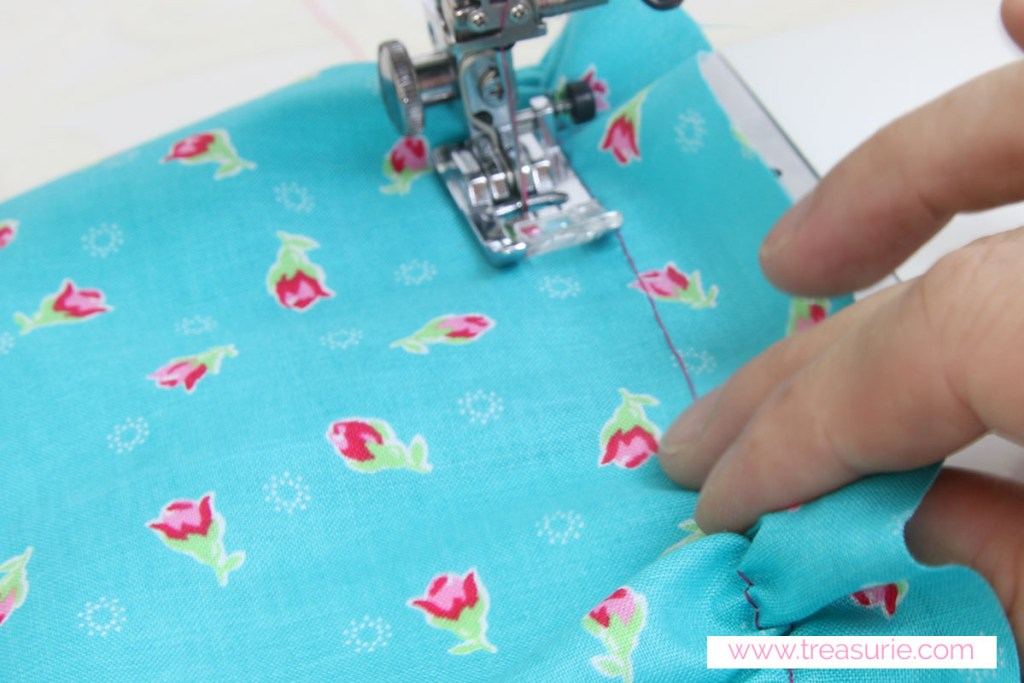 How to sew elastic thread