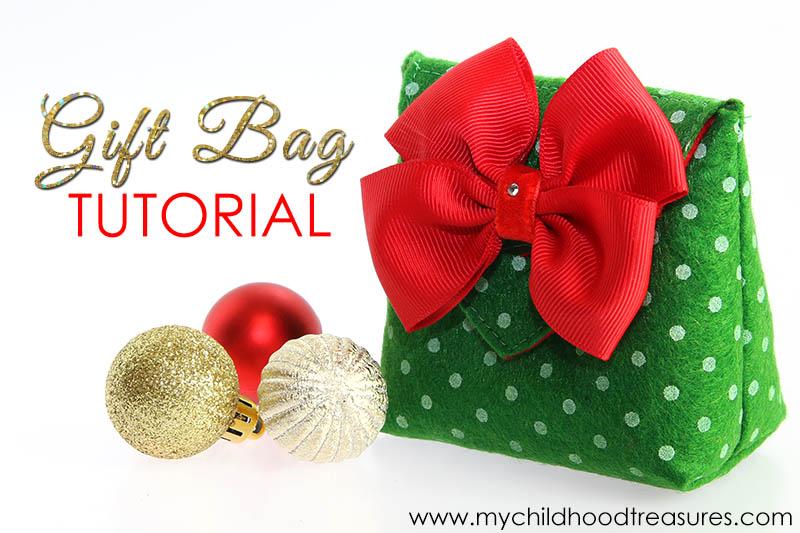 How to make a gift bag diy christmas gift bags free template