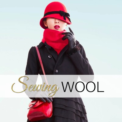 sewing wool, how to sew wool fabric