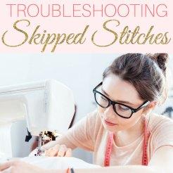 sewing machine skipping stitches