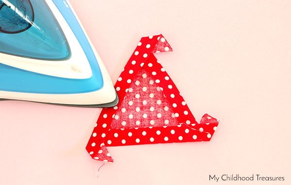 DIY Christmas Shirt - Triangles