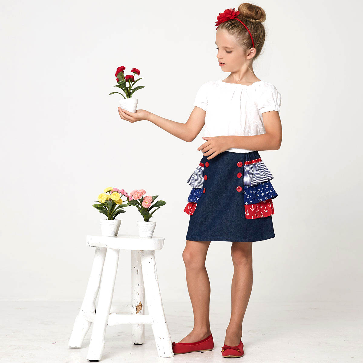 girls skirt pattern