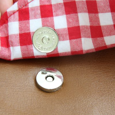 How to Insert Magnetic Snaps in a Purse or Bag