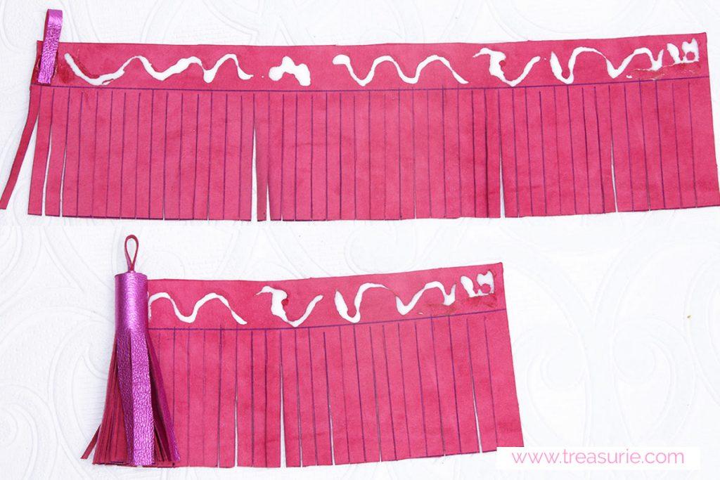 how to make tassels step 4