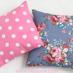 How To Make Cushion Covers Diy Envelope Cover 10 Mins Treasurie