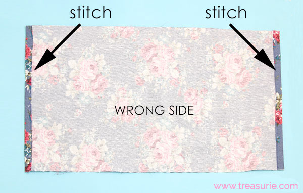 step 2 how to make a cushion cover
