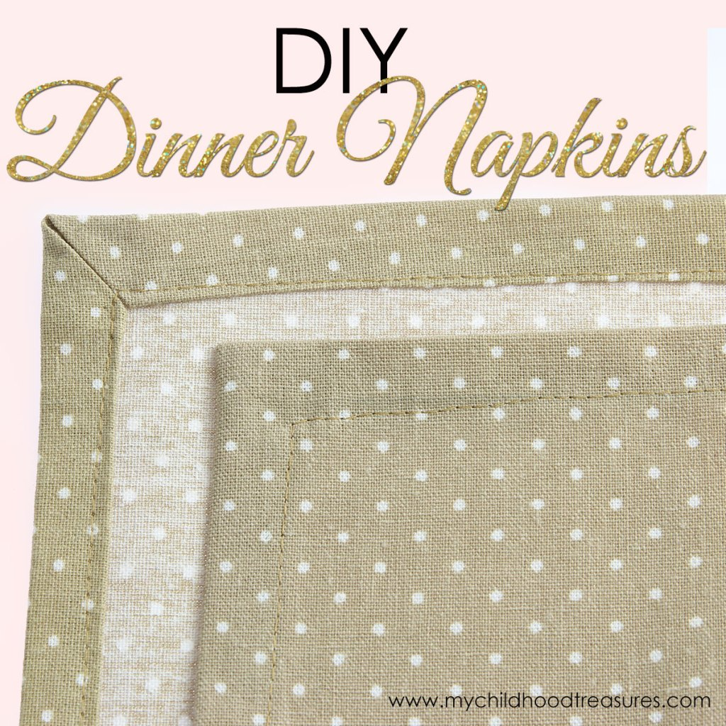 how to make napkins