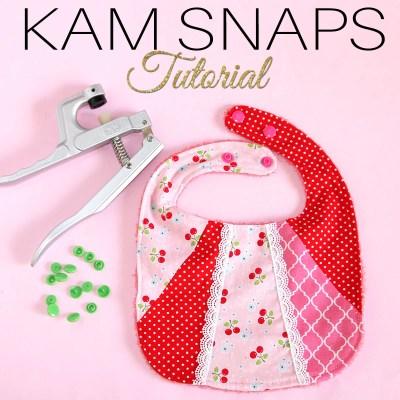 KAM Snaps Tutorial: DIY Plastic Snaps