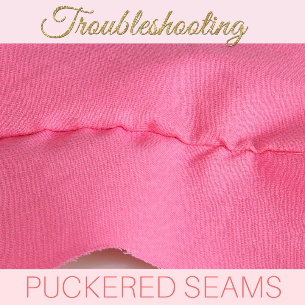 how to stop seams puckering, seam puckering