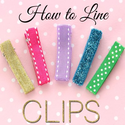 How to Line an Alligator Clip – DIY Hair Clips